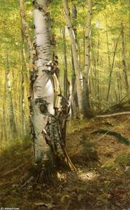John George Brown - Silver Birches