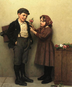 John George Brown - Knopfloch Posey
