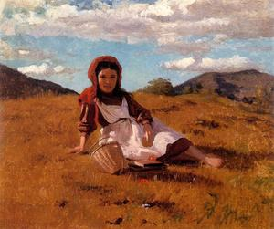 John George Brown - Der Picknickkorb