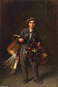 Jonathan Eastman Johnson - Staubwedel Boy