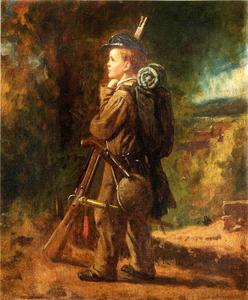 Jonathan Eastman Johnson - wenig soldat