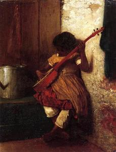 Jonathan Eastman Johnson - Musical Instinct