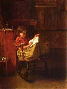 Jonathan Eastman Johnson - Die Boston Rocker