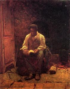 Jonathan Eastman Johnson - der Lord ist mein `shepherd`