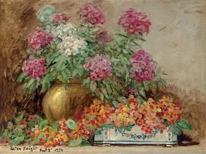 Louis Aston Knight - blumenstillleben