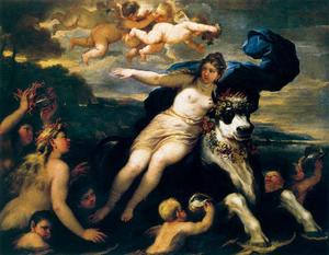 Luca Giordano - Rape of Europe