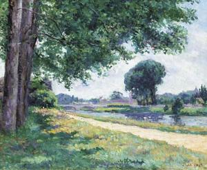 Maximilien Luce - Accolay, La Cure