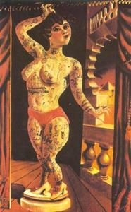 Otto Dix - Suleika, die Tatooed Wonder