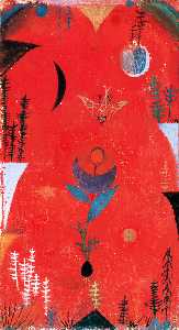 Paul Klee - blume mythos