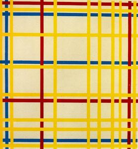 Piet Mondrian - new york ciry