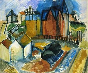 Raoul Dufy - der strand bei havre