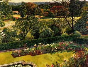 Stanley Spencer - Landschaft. Cookham Dene