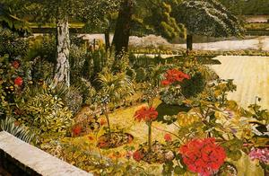 Stanley Spencer - Die Themse bei Chauntry Court