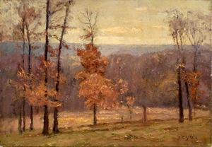 Theodore Clement Steele - november` tage in der hügel