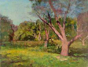 Theodore Clement Steele - The Old Orchard