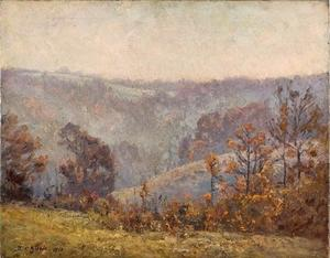 Theodore Clement Steele - Valleyszene (Ende November)