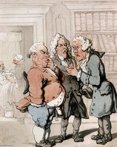 Thomas Rowlandson - Die Arztkonsultation