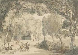 Thomas Rowlandson - The Woolpack Inn, Hungerford, Berkshire