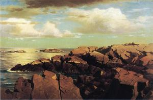 William Stanley Haseltine - nach einer dusche , Nahant , Usa