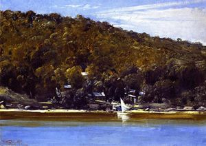 Thomas William Roberts - Das Camp, Sirius Cove