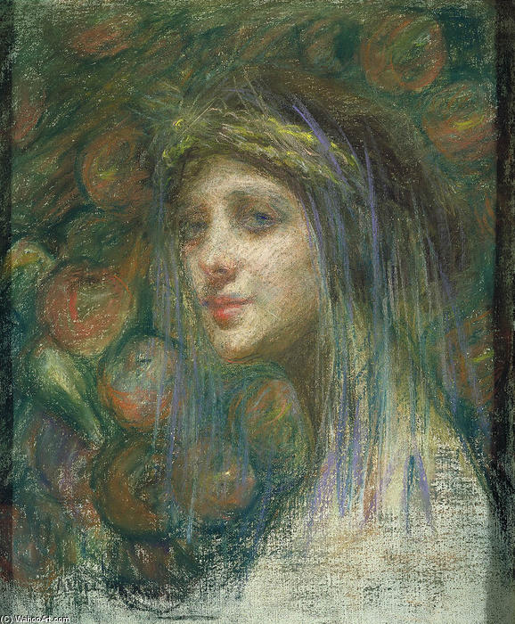 Ceres, 1901 von Alice Pike Barney (1857-1931, United States) | Kunstreproduktionen Alice Pike Barney | WahooArt.com