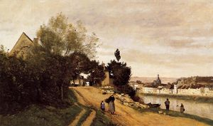 Jean Baptiste Camille Corot - Chateau Thierry