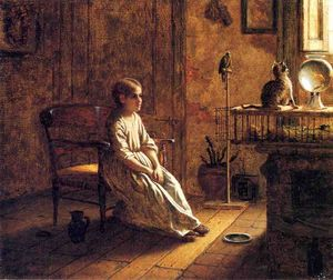 Jonathan Eastman Johnson - Ein Kinder Menagerie