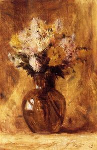 Dwight William Tryon - chrysanthemen