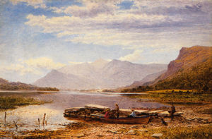Benjamin Williams Leader - Derwentwater von Ladore
