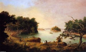 Charles Codman - Diamond Cove auf Hog Island, Casco Bay