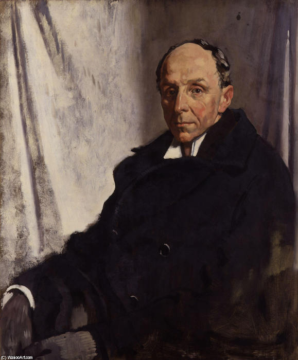 Edgar Algernon Robert Gascoyne Cecil, 1. Viscount Cecil von Chelwood von William Newenham Montague Orpen (1878-1931, Ireland)