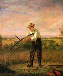 William Sidney Mount - Farmer Um dich Seine Sythe