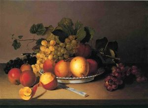 James Peale - frucht in einem korb