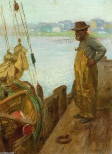 Edward Henry Potthast - Gloucester Fisherman
