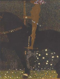 Gustav Klimt - Die Golden Knight