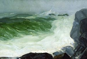 George Wesley Bellows - der grau meer