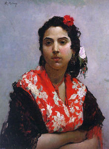 Raimundo De Madrazo Y Garreta - The Gypsy