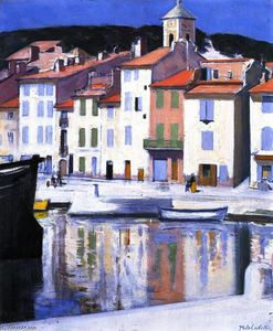 Francis Campbell Boileau Cadell - Das Harbour, Cassis