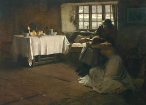 Frank Bramley - A Hopeless Morgenröte