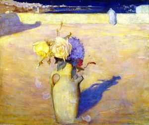 Charles Edward Conder - Die Hot Sands, Mustapha