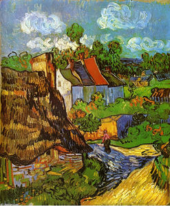 Vincent Van Gogh - häuser in auvers 2