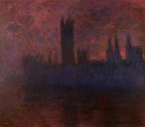 Claude Monet - Parlament London untergebracht  Sinfonie  an  stieg