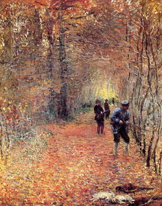 Claude Monet - Jagen ( auch bekannt as the shoot )