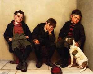 John George Brown - In Hard Luck