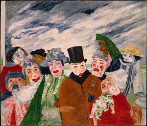 James Ensor - Die Intrigue