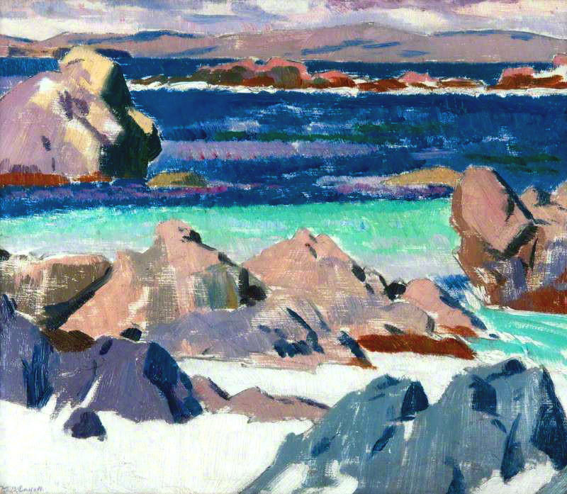 Iona, North End, 1923 von Francis Campbell Boileau Cadell (1883-1937)