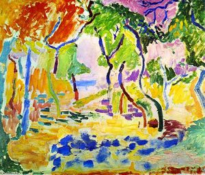 henri matisse the joy of life The joy of life in 1906, henri matisse finished what is often considered his greatest fauve painting it is a large-scale painting, depicting an arcadian landscape filled with brilliantly colored forest, meadow, sea, and sky and populated by nude figures both at rest and in motion.