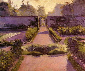 Gustave Caillebotte - The Kitchen Garden, Yerres