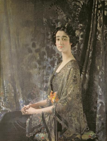 Lady Rocksavage von William Newenham Montague Orpen (1878-1931, Ireland) | Kunstdrucke Auf Leinwand | WahooArt.com