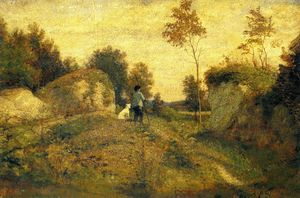 William Morris Hunt - Landschaft ein